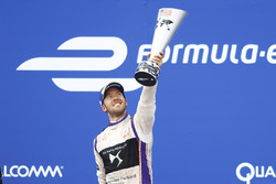 Sam Bird, DS Virgin Racing, que se celebra después de ganar la carrera