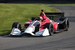 Oriol Servia test de 2018 Honda