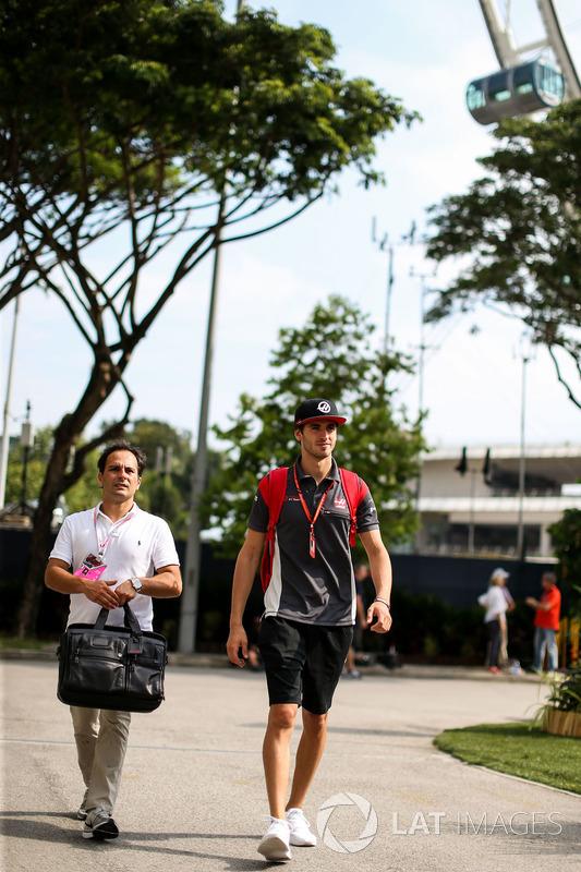 Antonio Giovinazzi, Haas F1 Team, Testfahrer