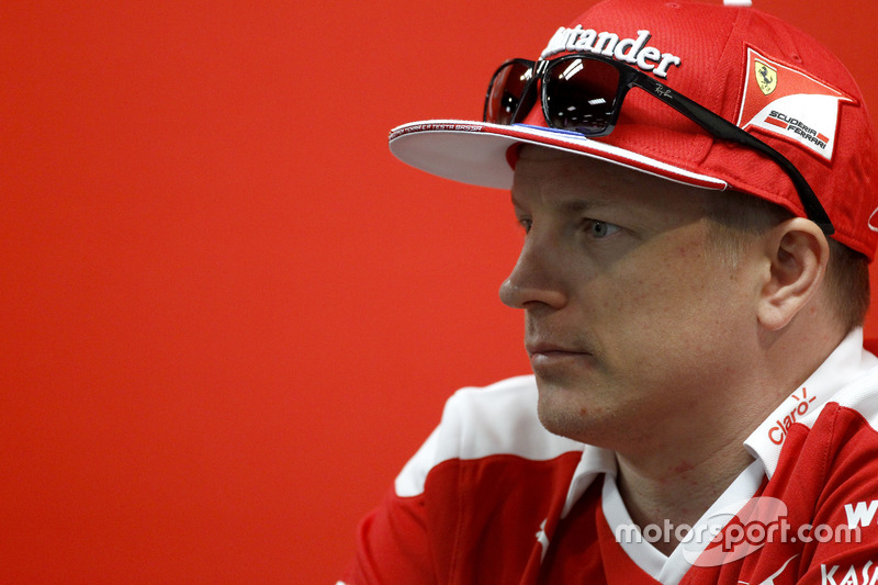 Conferencia de Prensa: Kimi Raikkonen, Ferrari