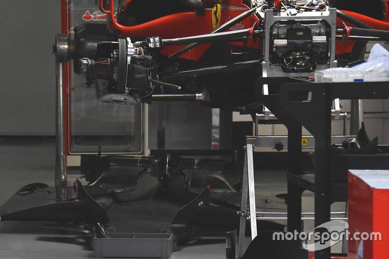 Ferrari SF70H front detail