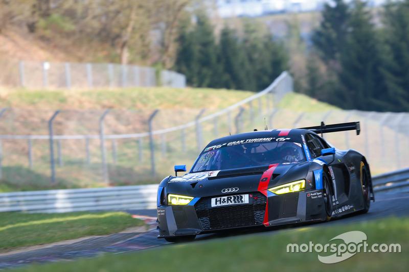 Nico Müller, Marcel Fässler, Robin Frijns, Audi R8 LMS, Audi Sport Team WRT