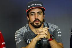 Fernando Alonso, McLaren Perşembe basın toplantısı