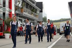 Williams mechanics in the Padock
