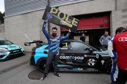 Pole position pour Stefano Comini, Comtoyou Racing, Audi RS3 LMS