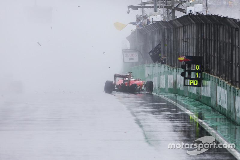 41: Гран Прі Бразилії, Сан-Паулу. Аварія Кімі Райкконена