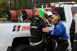 Jose Gutierrez na zware crash