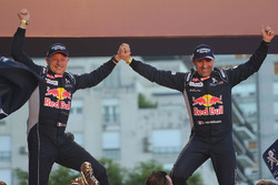 Winners Stéphane Peterhansel, Jean-Paul Cottret, Peugeot Sport