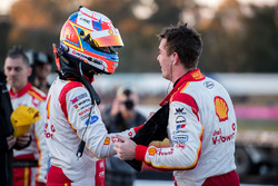 1. Shane van Gisbergen, Triple Eight Race Engineering, Holden; 3. Fabian Coulthard, Team Penske, For