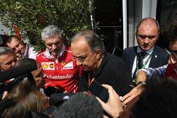 Maurizio Arrivabene, Ferrari Takım Patronu, Sergio Marchionne, CEO FIAT