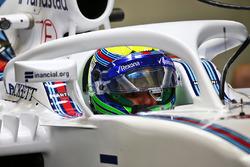 Felipe Massa, Williams FW38, Halo kokpit ile