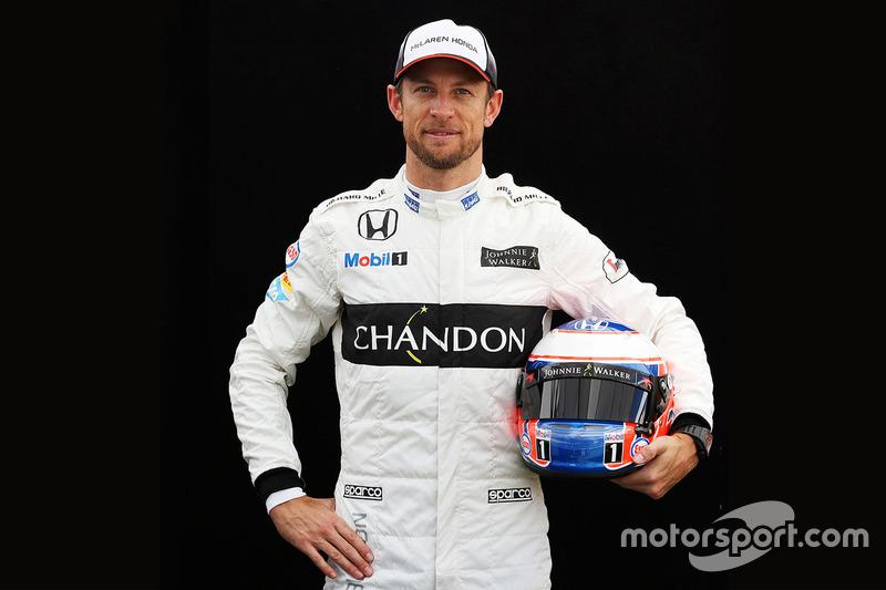 Jenson Button, McLaren (martes)