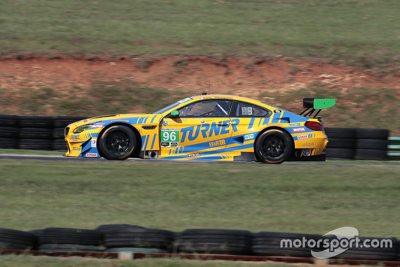 #96 Turner Motorsport BMW M6 GT3: Bret Curtis, Jens Klingmann