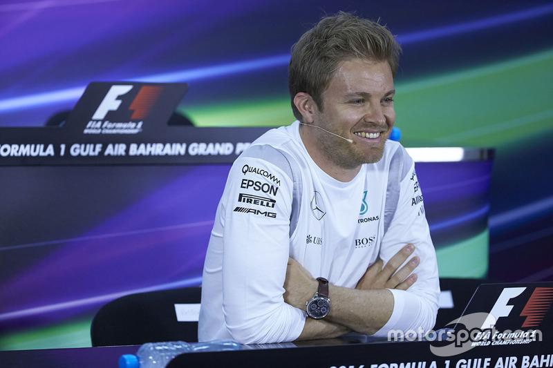 Conferencia de prensa: Nico Rosberg, Mercedes AMG F1 Team