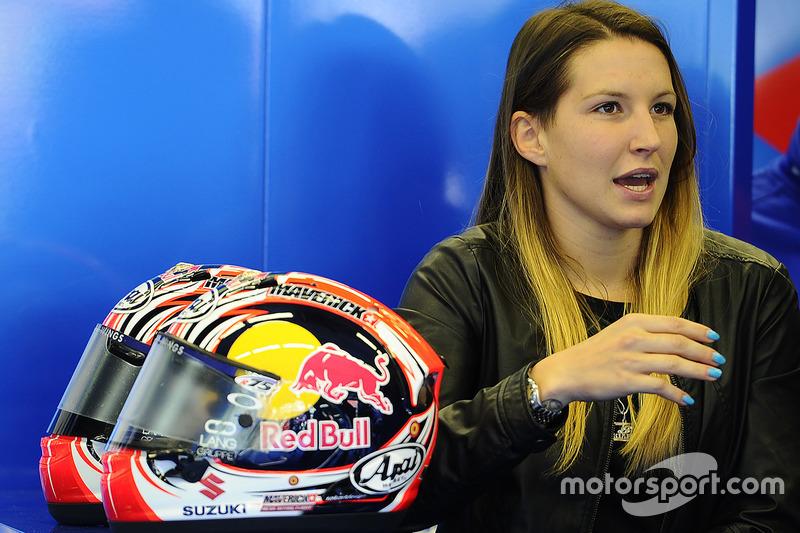 Kiara Fontanesi, Maverick Vinales s girlfriend at Italian GP