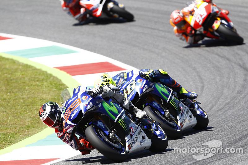 Rossi teve o motor de sua Yamaha quebrado na etapa do ano passado, em Mugello