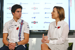 Lance Stroll, Claire Williams, afgevaardigd teambaas Williams