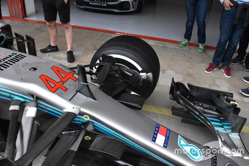 Mercedes AMG F1 detalle