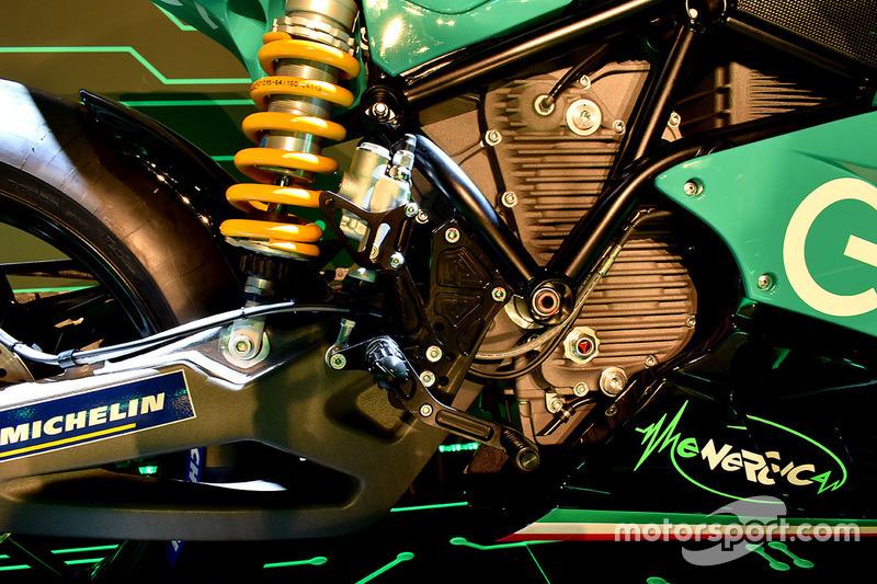 Detalle de la Moto de MotoE