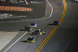 Jimmie Johnson, Hendrick Motorsports Chevrolet Camaro crashes