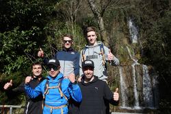 Joel Eriksson, Bruno Spengler, Augusto Farfus, Marco Wittmann, Philipp Eng ve Joel Eriksson, Hiking