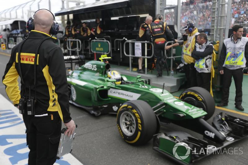 Marcus Ericsson, Caterham F1 CT05