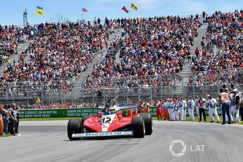 Jacques Villeneuve, Sky Italia mengendarai mobil ayahnya, Ferrari 312T3