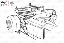 Jordan 196 extra wing Monaco GP