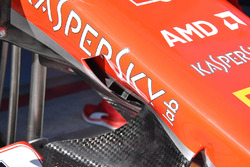 Ferrari SF71H front nose detail