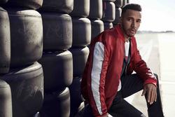 Lewis Hamilton, servizio fotografico per Tommy Hilfiger