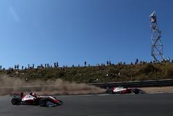 Mick Schumacher, PREMA Theodore Racing Dallara F317 - Mercedes-Benz sobre la grava