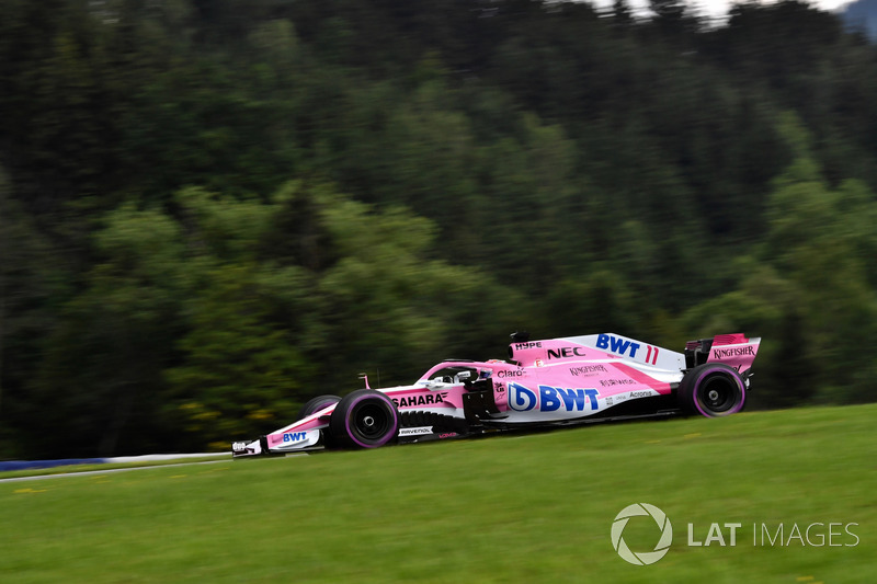 15: Sergio Perez, Force India VJM11, 1'05.279