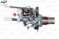 Red Bull RB13, sospensione push rod