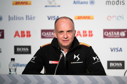 Xavier Mestelan Pinon, DS Performance Director, in the Friday Press Conference