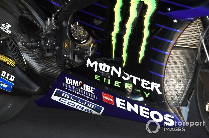 Moto de Yamaha Factory Racing