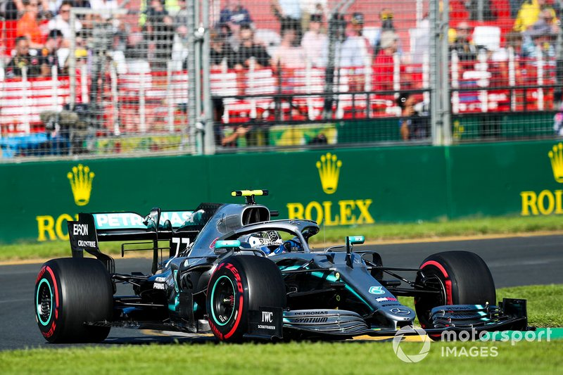 1. Valtteri Bottas, Mercedes AMG W10