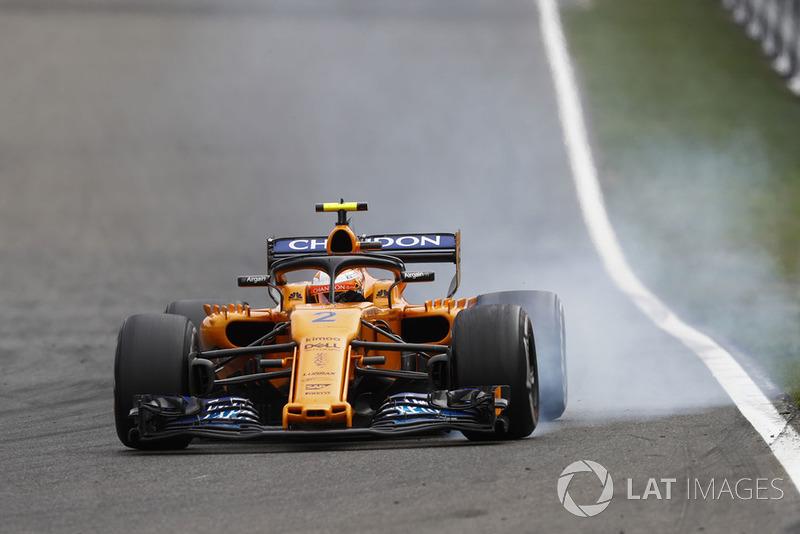 15e : Stoffel Vandoorne (McLaren)