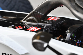 Система Halo на автомбоиле Haas F1 Team VF-18