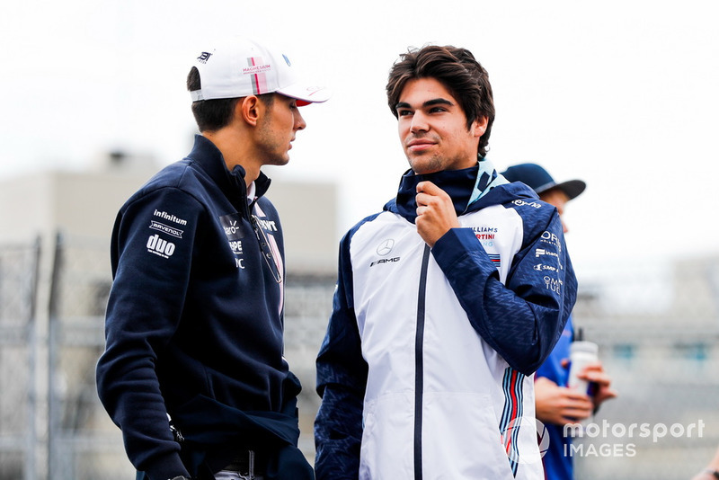 Esteban Ocon, Racing Point Force India, Lance Stroll, Williams Racing