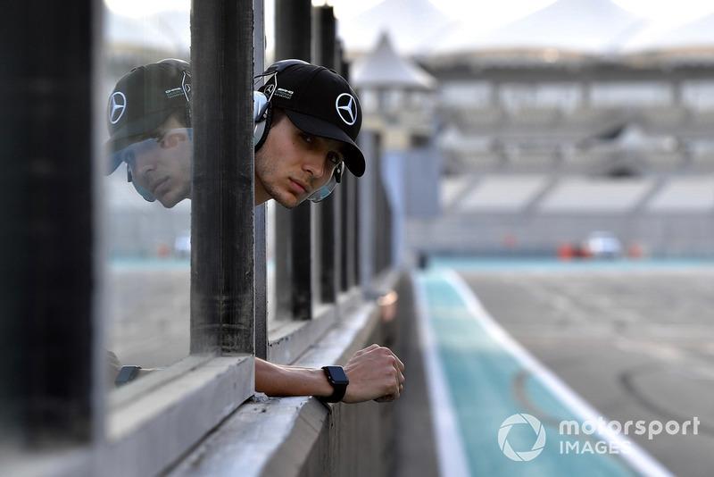 Esteban Ocon, pilote d'essais et de réserve Mercedes-AMG F1