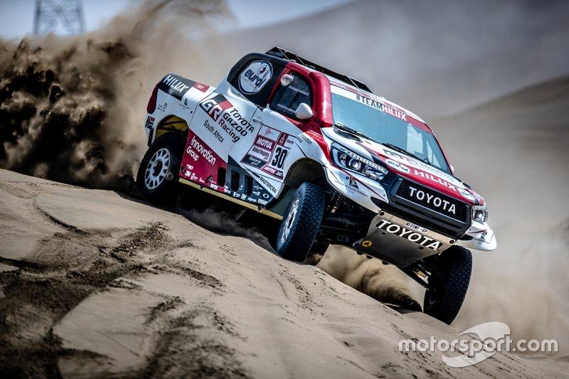 #302 Toyota Gazoo Racing SA: Жінель де Вільєр, Дірк фон Цітцевітц