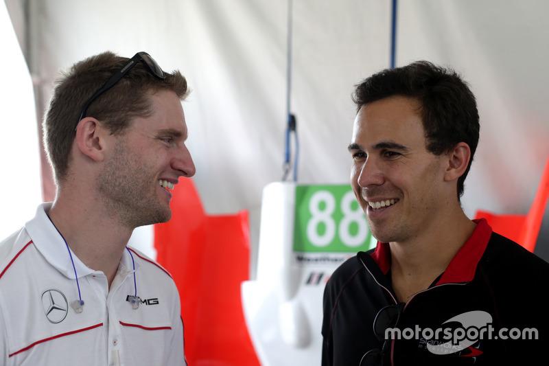 Maro Engel, SunEnergy1 Racing Y Robert Wickens, Starworks Motorsport