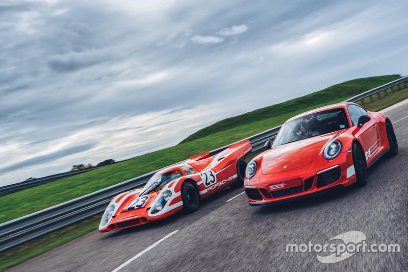 Porsche 911 Carrera GTS 4 British Legends Edition & Porsche 917 K