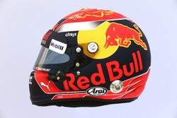 Il casco di Max Verstappen, Red Bull Racing RB13