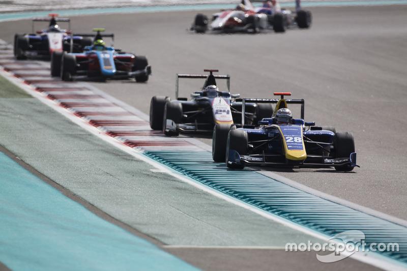 Kevin Joerg, DAMS y  Konstantin Tereshchenko, Campos Racing