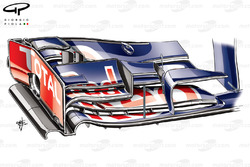 Red Bull RB9 front wing