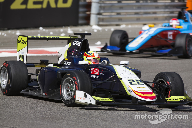 Alex Palou, Campos Racing y Akash Nandy, Jenzer Motorsport
