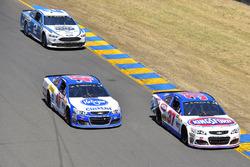Chris Buescher, JTG Daugherty Racing Chevrolet, A.J. Allmendinger, JTG Daugherty Racing Chevrolet