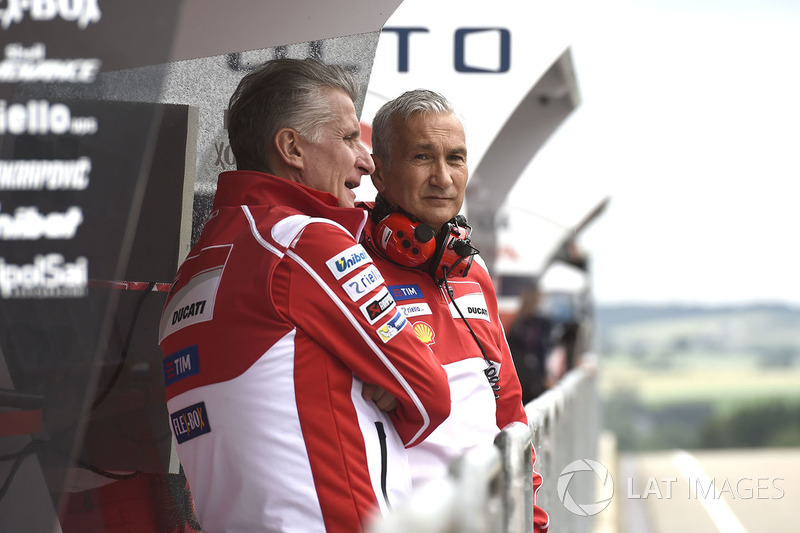 Davide Tardozzi, director de Ducati Team
