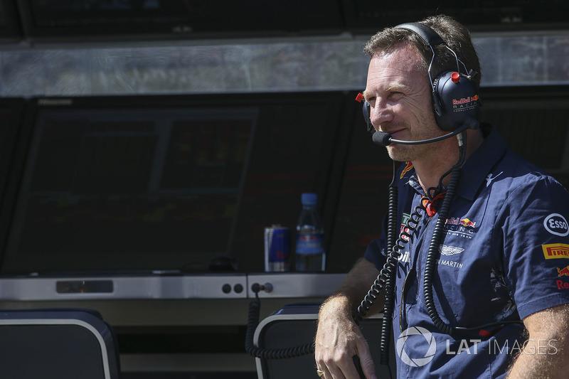 Christian Horner, director de Red Bull Racing